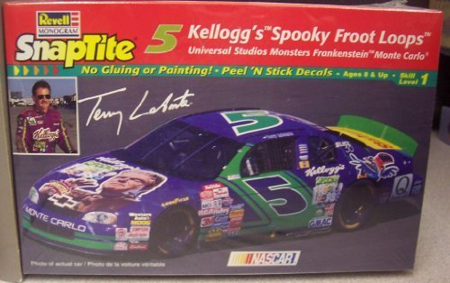 1713-revell-snaptite-terry-labonte-5-kelloggs-spooky-froot-loops-monte-carlo-1-32-scale-plastic-mode