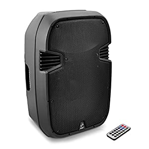 PylePro PPHP127AI 12-Inch 1200 Watt Powered 2 Way Full Range PA Speaker with Built-In iPod Dock USB SD and Remote control