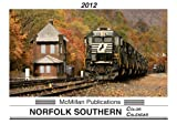 2012 Norfolk Southern Railroad Color Calendar