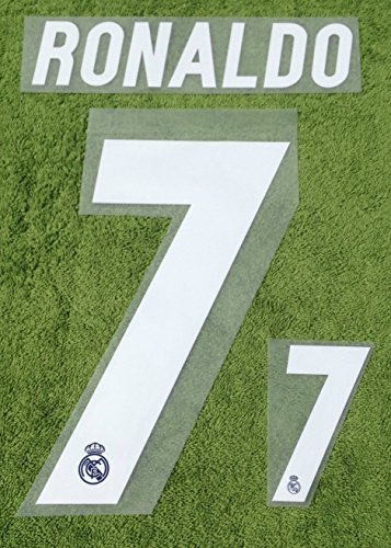RONALDO #7 Real Madrid Away 2016-2017 Soccer Jersey Football Shirt Print Name Number Set Adults Transfer (Cristiano Ronaldo Print Number compare prices)