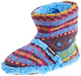 Muk Luks 2-6X Flirty Fairisle Scrunch Boot (Toddler/Little Kid/Big Kid)