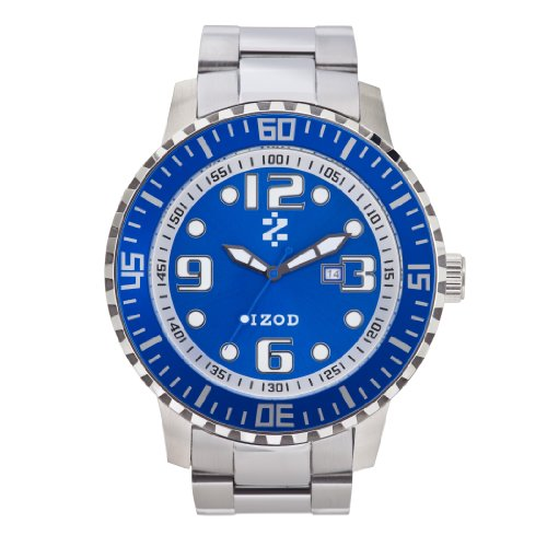 IZOD Men's IZS5/6 BLUE Sport Quartz 3 Hand Watch
