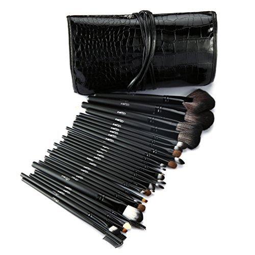 glow-noir-30-qualite-professionnelle-pinceaux-de-maquillage