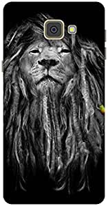The Racoon Grip Rasta Lion hard plastic printed back case / cover for Samsung Galaxy A9(2016)