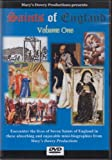 Saints of England: Volume One DVD, St. Simon Stock, St. Anne Line, St. Hilda, St. Hugh of Lincoln, St. Elphege, St. Ambrose Barlow, St. Stephen Harding, Cistercians, Trappists, Catholic History, Catechetical, Well Known Saints Series, Mary's Dowry, Saint