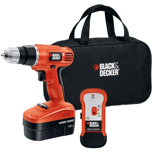"Black & Decker 18-Volt Cordless Drill & Stud Sensor Kit ""Product Category: Power Tools/Cordless Drill/ Driver Kit"""