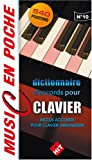 echange, troc Hit - Dictionnaire d'accords pour clavier - 540 positions - Inclus Accords pour clavier-arrangeur (music en poche n°10)