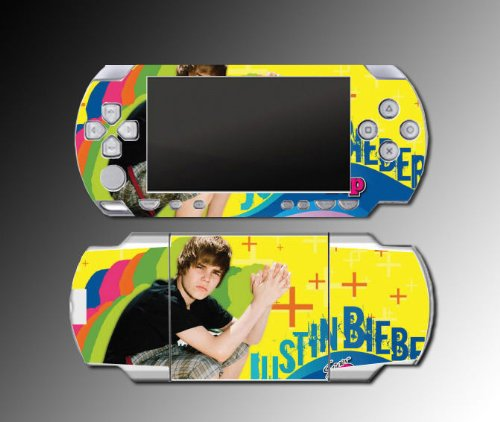 Justin Bieber Music Singer baby Game Vinyl Decal Cover Skin Protector #20 Sony PSP 1000 Playstation Portable