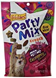 Friskies Treats 7-Pack Party Mix in Pouch, California Dreamin Crunch Chicken, Turkey and Bacon Flavors, 6-Ounce