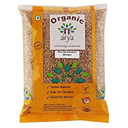 Arya Farm Organic Rice Sonamasuri (Brown) (1kg)
