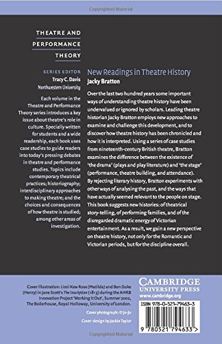 New Readings in Theatre History Paperback (Theatre and Performance Theory)