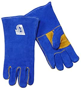Steiner 2519BRH B Series Side Split Cowhide Leather Welding Gloves, Large, Right Hand Only (Pack of 1 Pair)