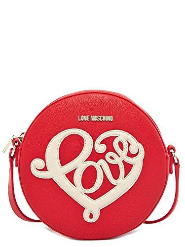LOVE MOSCHINO TASCHE DAMEN JC4250PP01KF0513 ROT SCHULTERTASCHE RED WOMEN, Größe:ONE SIZE thumbnail