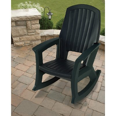 Semco Recycled Plastic Rocking Chair - Chairs - Patio and Furniture