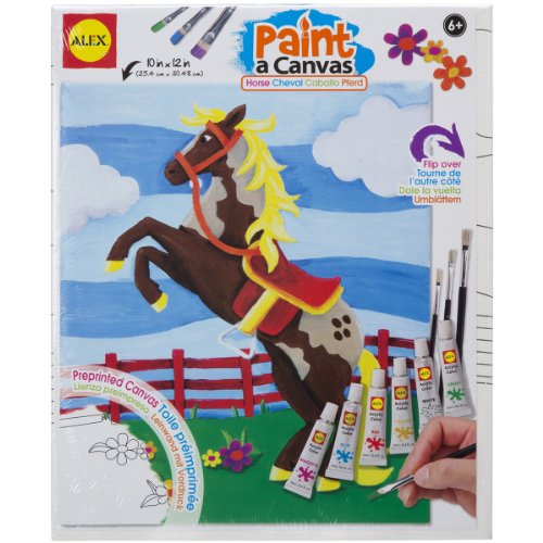 Alex Art Paint A Canvas - Horse
