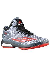 Adidas Men' Crazy Light Boost Basketball Sneakers, Leopard Onyx Black