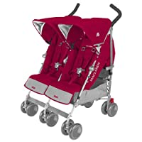 Maclaren Twin Techno Stroller Persian Rose