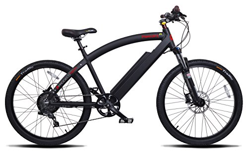 ProdecoTech-Phantom-X-R-V5-36V600W-8-Speed-Electric-Bicycle-14Ah-Samsung-Li-Ion-Matte-Black-18One-Size