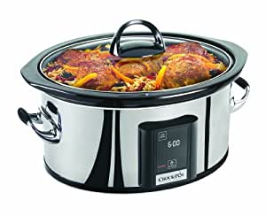 Crock-Pot 6.5 Qt Touchscreen Slow Cooker
