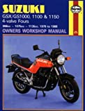 Pete Shoemark Suzuki GSX/GS1000, 1100 and 1150 4-valve Fours Owners Workshop Manual (Motorcycle Manuals)