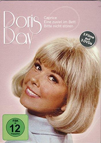 DORIS DAY (3 Filme auf 3 DVDs) (Eine zuviel im Bett, Caprice, Bitte nicht stören)