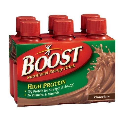 Boost High Protein Energy Drink 8 Oz: Boost High Protein Nutritional Energy Drink Chocolate