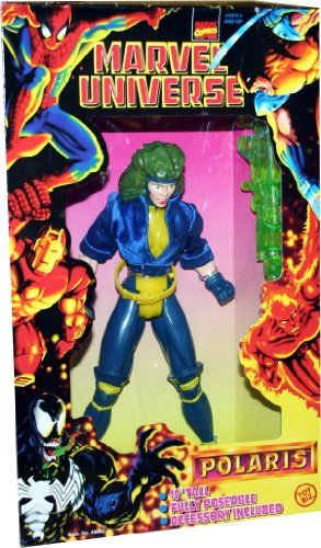Marvel Universe Polaris 10 inch Poseable Action Figure - 1