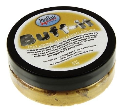 Buff-It Pinflair Craft Vernis Or, 50 g