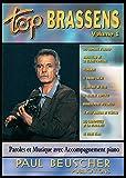 Partition : Top Brassens volume 1