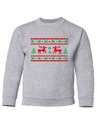 Festive Threads Christmas Crewneck Sweatshirt