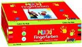 Mucki 2316 - Fingerfarben 6er Set 150 ml
