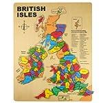 Bigjigs Wooden British Isles Puzzle