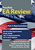 img - for PassKey EA Review, Part 3: Representation: IRS Enrolled Agent Exam Study Guide 2014-2015 Edition (Volume 3) book / textbook / text book
