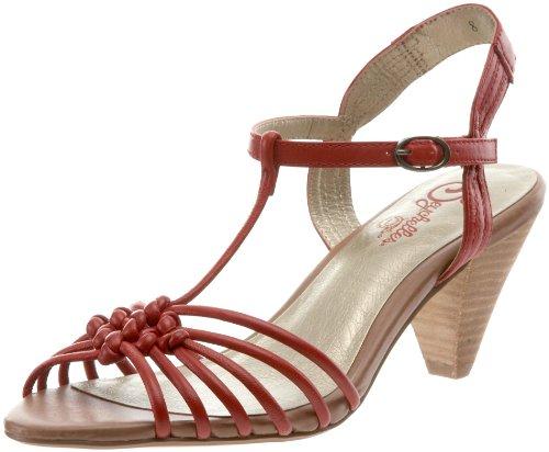 Seychelles Women's Ep T-Strap Sandal,Red,9 M US