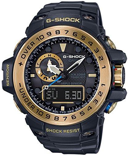 [カシオ]CASIO 腕時計 G-SHOCK GULFMASTER 世界6局対応電波ソーラー GWN-1000GB-1AJF メンズ