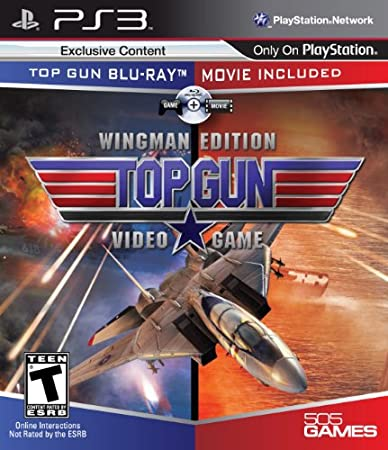Top Gun: The Video Game (Wingman Edition, Game/Movie)