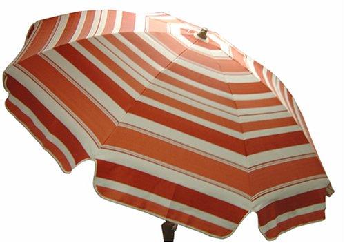 Katani Stripe Coral Spun Poly Umbrella - Buy Katani Stripe Coral Spun Poly Umbrella - Purchase Katani Stripe Coral Spun Poly Umbrella (Arden, Home & Garden,Categories,Patio Lawn & Garden,Patio Furniture,Umbrellas & Accessories,Umbrellas)