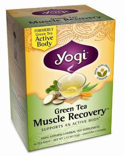Yogi Tea Green Tea Muscle Recovery-16 Tea Bags