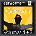 Rapid German: Volumes 1 & 2 Audiobook by Earworms Learning Narrated by Marlon Lodge