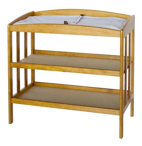 Davinci Monterey Baby Changing Table - Honey Oak front-63734