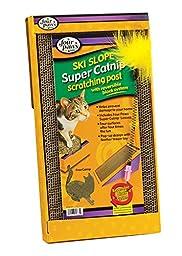 Four Paws Super Catnip Ski Slope Cat Scratching Post