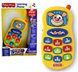 Fisher Price Laugh & Learn Learning Phone IN GREEK Toy