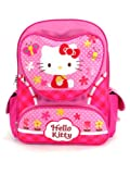 Full Size Pink Butterflies and Bees Hello Kitty Backpack - Hello Kitty Bookbag