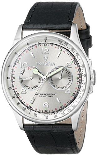 Invicta Men'S 6749Syb Vintage Analog Display Swiss Quartz Black Watch