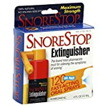 SnoreStop Extinguisher Anti-Snoring Oral Spray, Maximum Strength, 120 sprays 0.4 fl oz (12 ml)