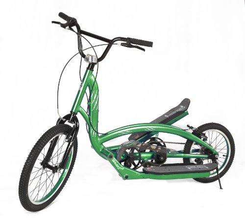 Zike Saber Hybrid Bike (Lime Green, 25 1/2-Inch W X 61-Inch L X 41-Inch H)