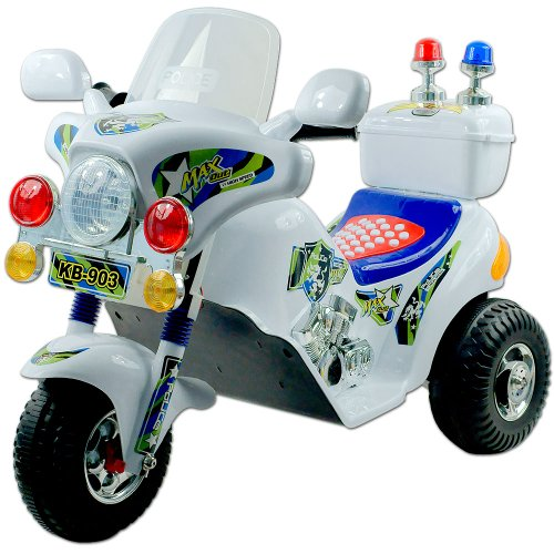 Lil' Rider Maxout Police Motorcycle Battery Operated front-677367