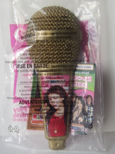 "2012 Mcdonalds Happy Meal Toy - Victorious #2 ""Microphone Styling Brush"""
