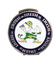 Notre Dame Fighting Irish Hat Clip with Golf Ball Marker