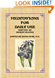 Meditations for Daily Use